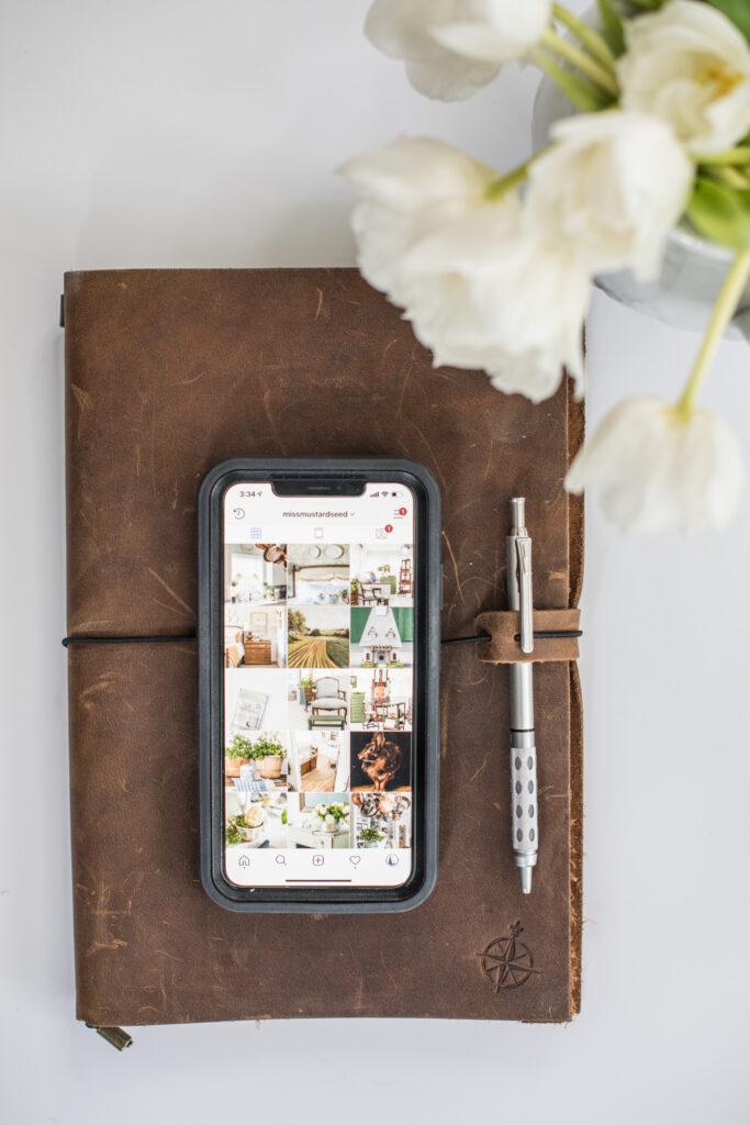 Wanderings Leather Journal