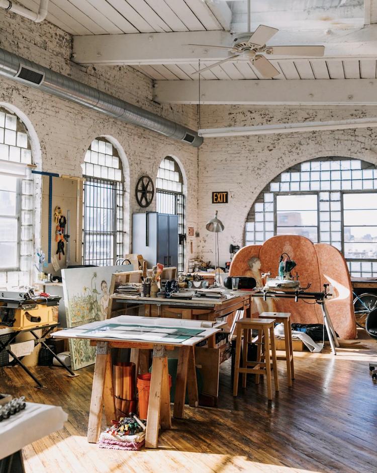 The Creative Exponent | Creative Spaces | Studio Tours | Liz Sparacio