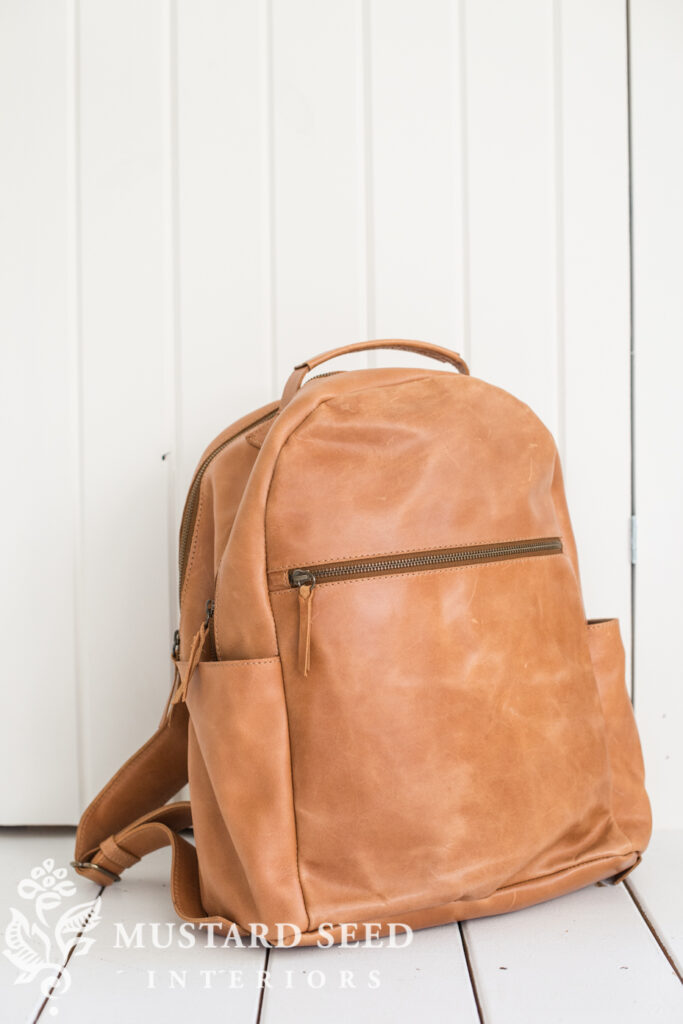 The Creative Exponent   Creative Contraptions   ABLE Leather Backpack