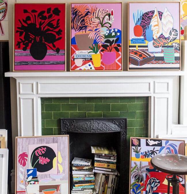 Creative Spaces: Mary Finlayson's Studio