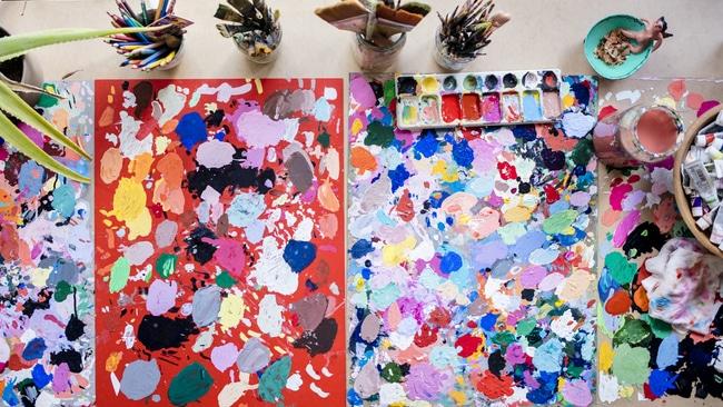 The Creative Exponent | Creative Spaces | Mary Finlayson's Studio